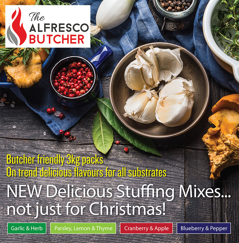 New Stuffing Mixes from IFI and The Alfresco Chef