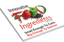 Innovative Food Ingredients Logo White